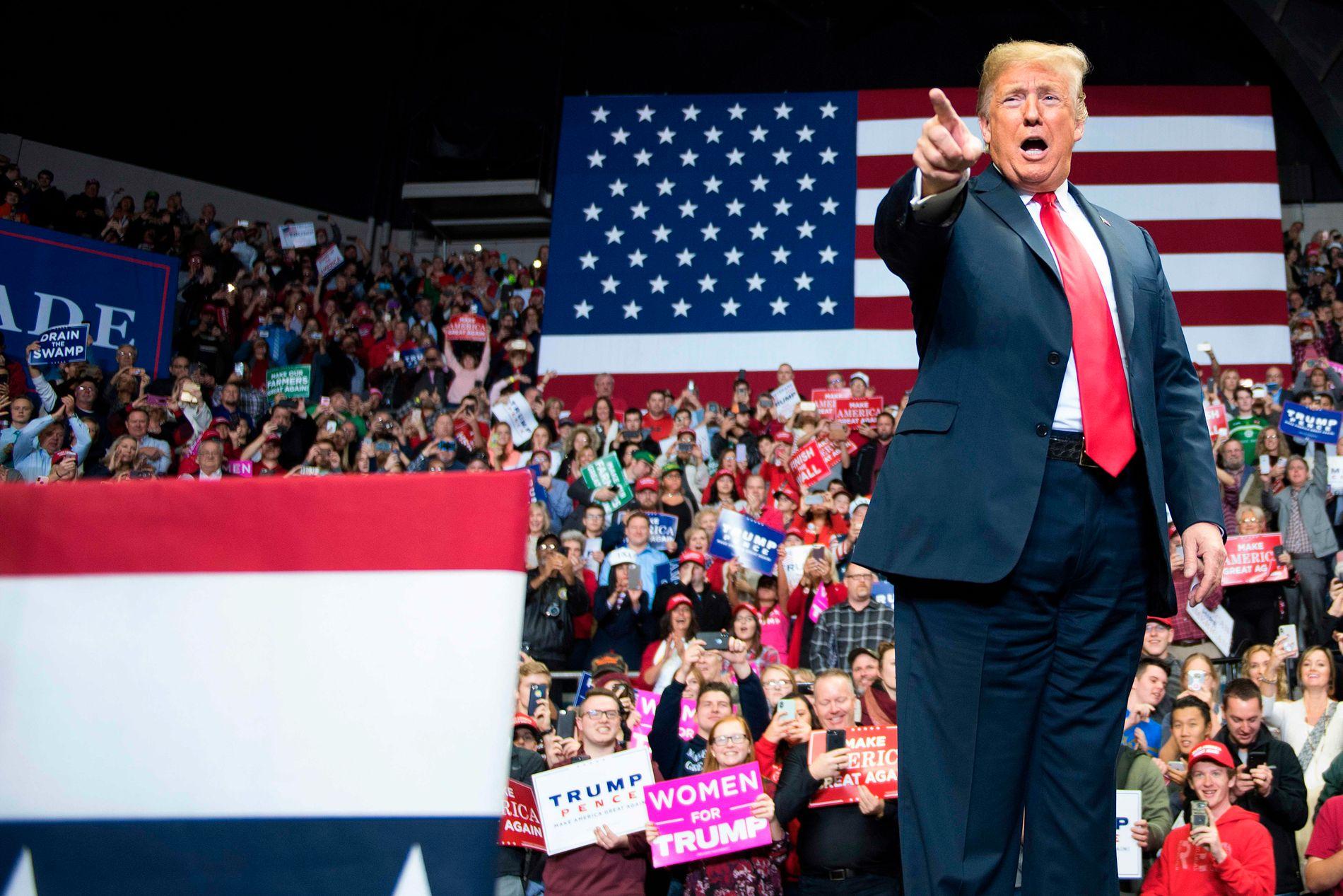 MER SPLITTELSE: Donald Trump vil møte motstand, og det blir spennende å se hvordan han reagerer, mener USA-kjenner.
