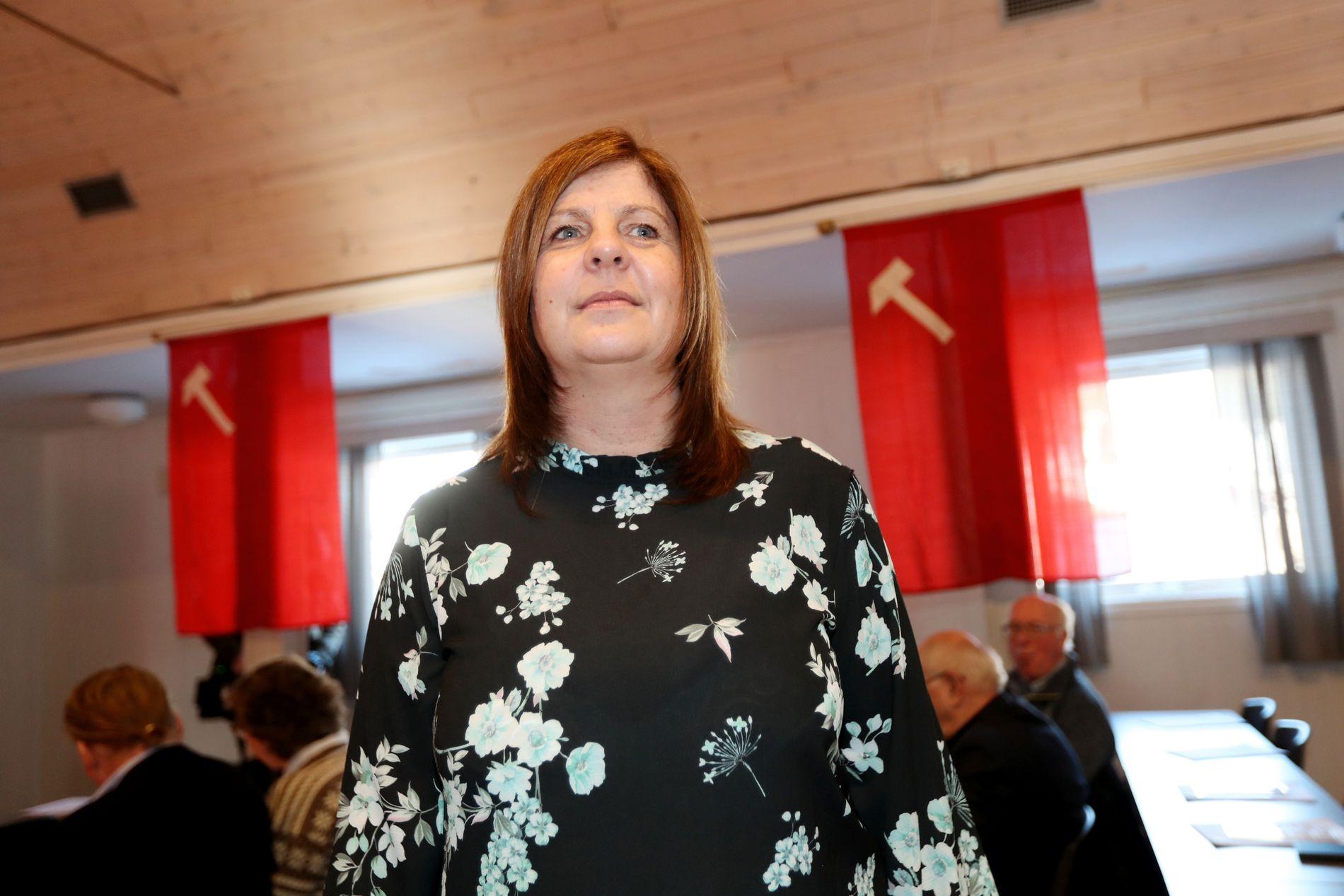 NYTT LOKALLAG: Trude Tevik Gulbrandsen ble lørdag valgt til leder av nye Orkland Ap, som blir et av de største lokallagene i Trøndelag.