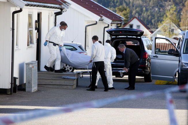 ÅSTED: Joakim Ophaug Røksland ble drept.