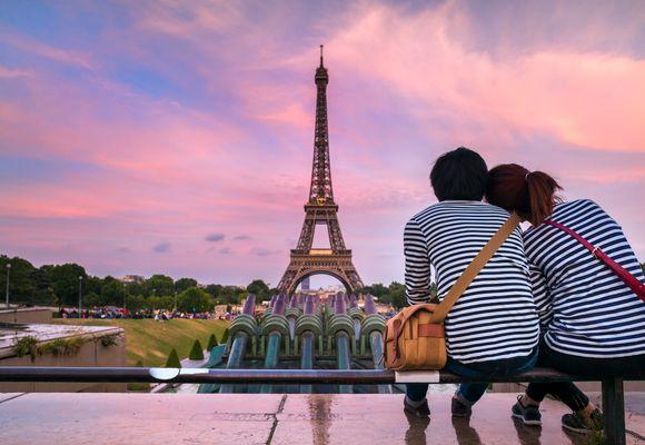 Fire romantiske Valentine-turer
