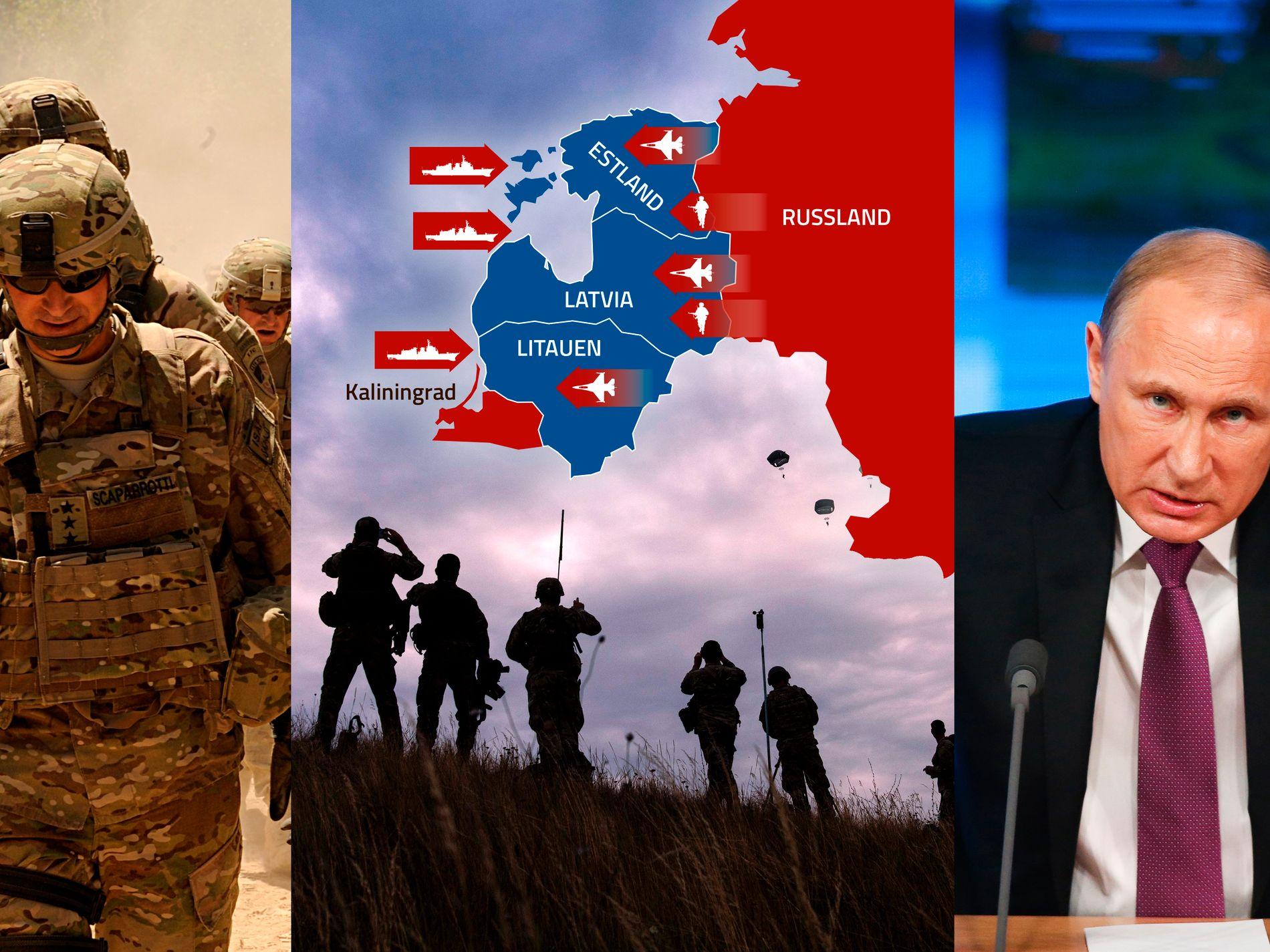 113bb6d1 Hvis president Putin vil underlegge seg Baltikum, vil det ikke koste ham  mye.