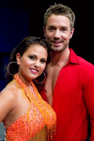 SVINGTE SEG: Tommy Fredvang med dansepartner Rakel Kristina Aalmo i «Skal vi danse» 2010. Foto: NTB SCANPIX