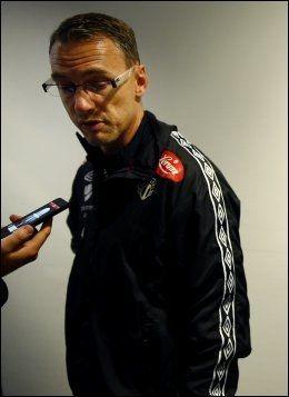 BUNNSTRID: For Sogndal og trener Jonas Olsson. Foto: Erlend Aas, NTB Scanpix
