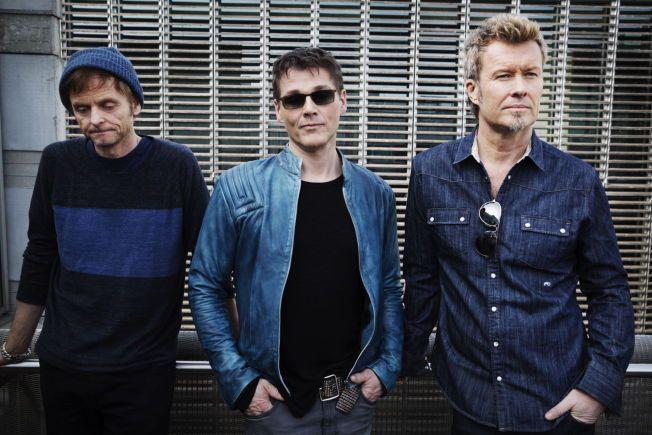 COMEBACK-RUNDE: VG møtte Paul Waaktaar-Savoy, Morten Harket og Magne Furuholmen etter pressekonferansen i Berlin i mars, der trioen virket både tente, sprudlende og humoristiske.