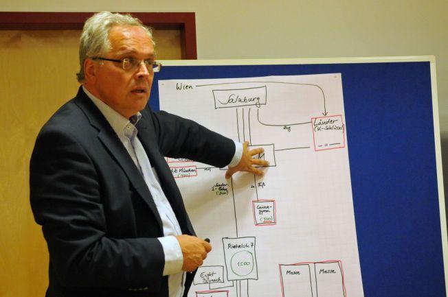 KRISEHÅNDTERING: Delstatspresident Christoph Hillenbrand er ansvarlig for krisehåndteringen i Bayern. Han ber innstendig om at flere må avlaste den enorme påganger av flyktninger.