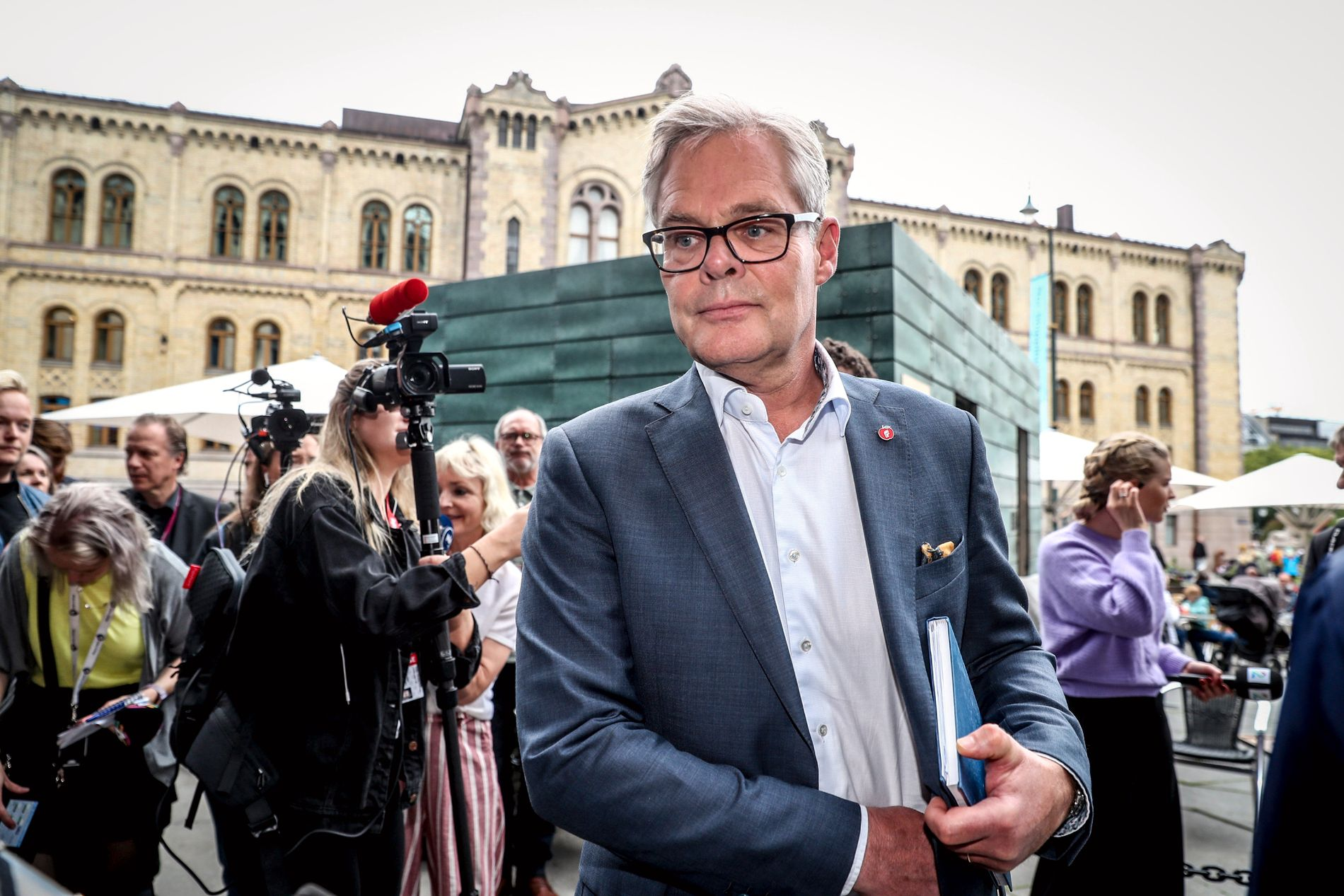 PARLAMENTARISK LEDER: Hans Andreas Limi.