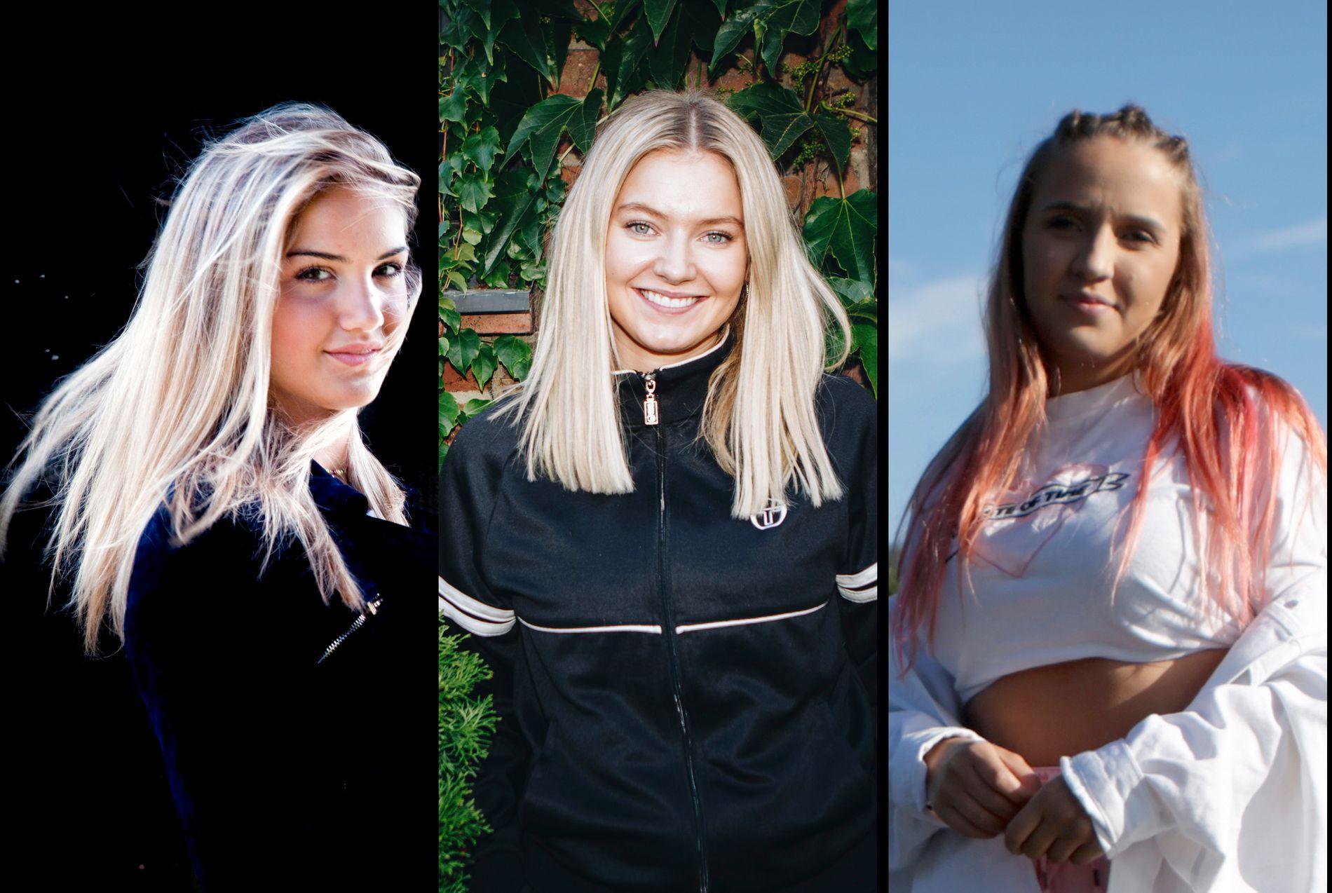 VIL VISE MER: Adelén, Astrid S og Fanny Andersen er tre av de norske artistene som har kastet seg på «Free the nipple- kampanjen».