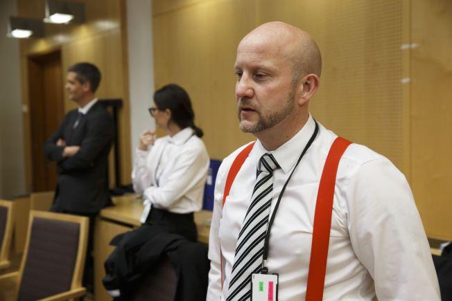 I RETTEN: Statsadvokat Geir Evanger ved Det nasjonale statsadvokatembetet fører saken mot den terrortiltalte 24-åringen fra Fredrikstad.
