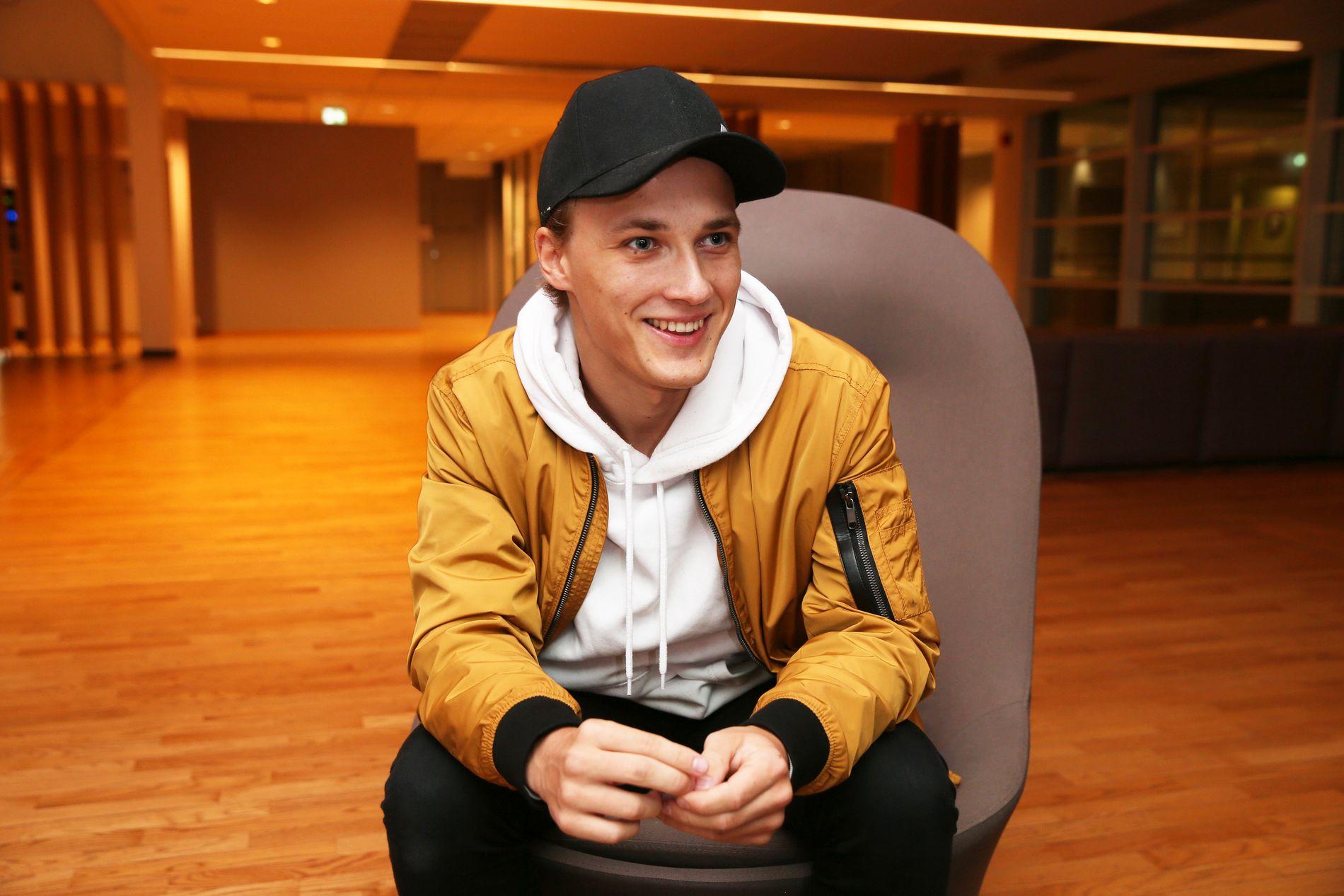 EGET SELSKAP: Andreas Hem (23) har produksjonsselskapet «Twins Productions» sammen med tvillingbroren sin.