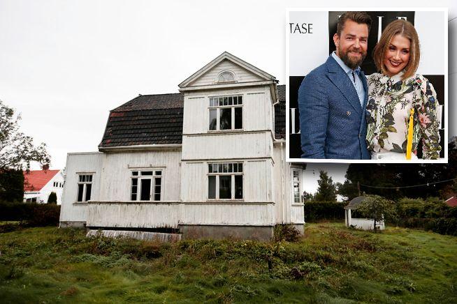 REV VILLA: Kommunen har nå vedtatt å sende et gebyr på 400.000 kroner etter at denne «Villa Solum» i Bærum ble revet ulovlig.