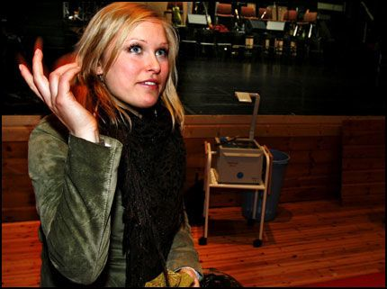 LÅTSKRIVER: Eva Weel Skram har selv skrevet sangen «A potion of lust» som hun synger på den kommende «Idol»-samleplaten. Foto: Frode Hansen
