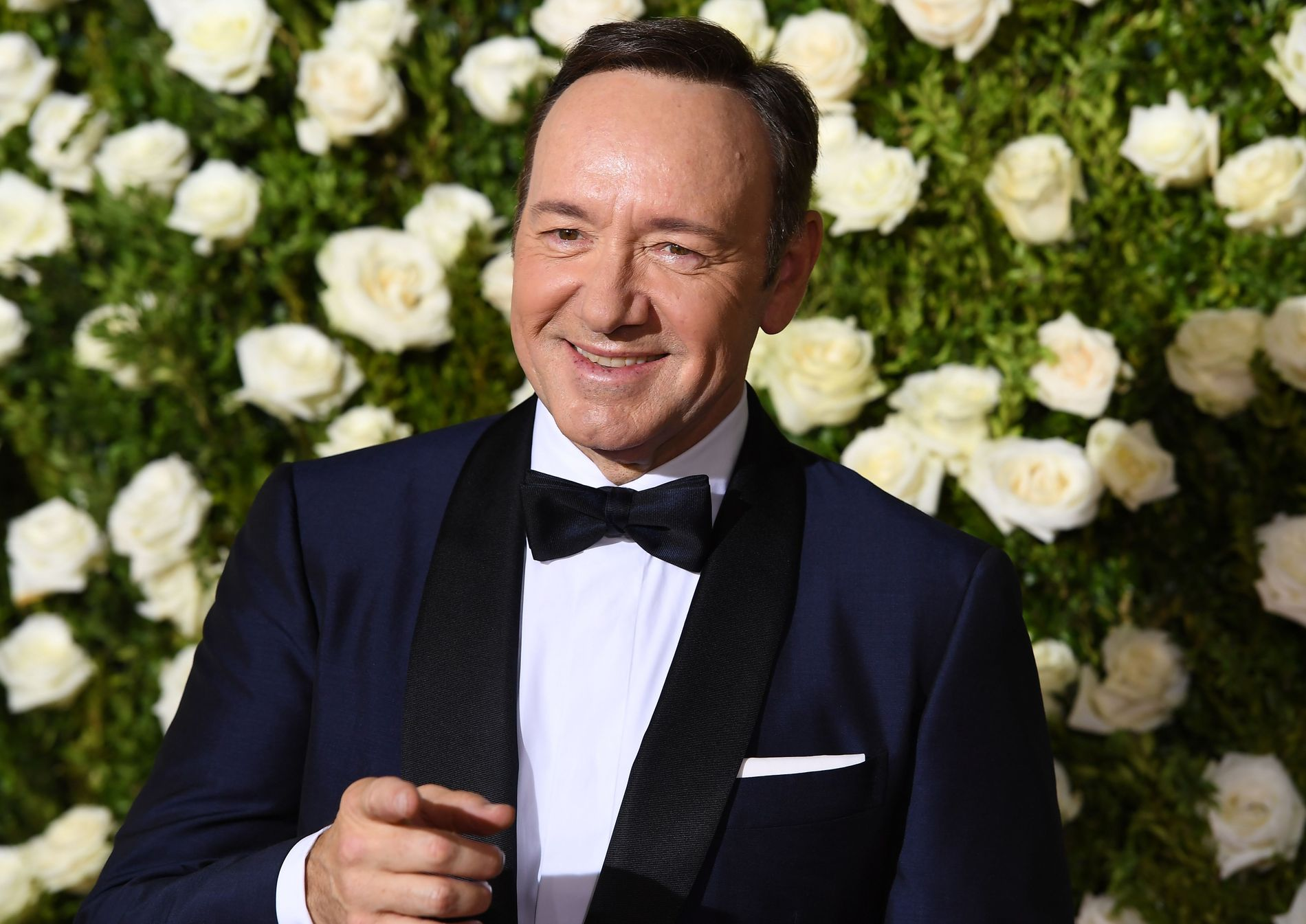 YTTERLIGERE ANKLAGER: Kevin Spacey fotografert under The Tony Awards i New York 11. juni i fjor.