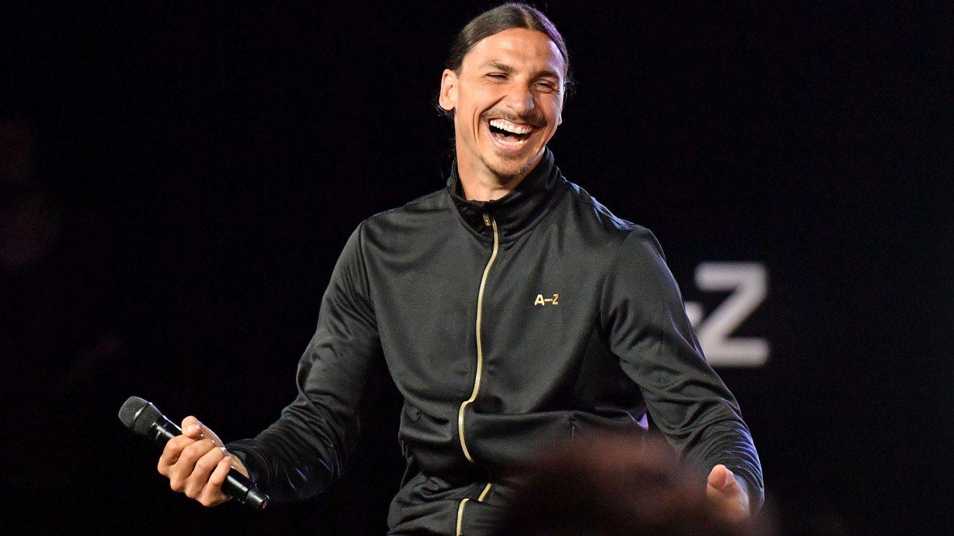 KLAR FOR PREMIER LEAGUE: 34 år gammel skal Zlatan endelig få bryne seg i den engelske ligaen.