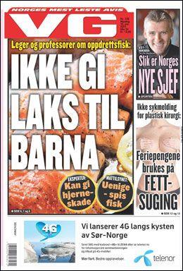 FAKSIMILE: Forsiden av VG 10. juni.