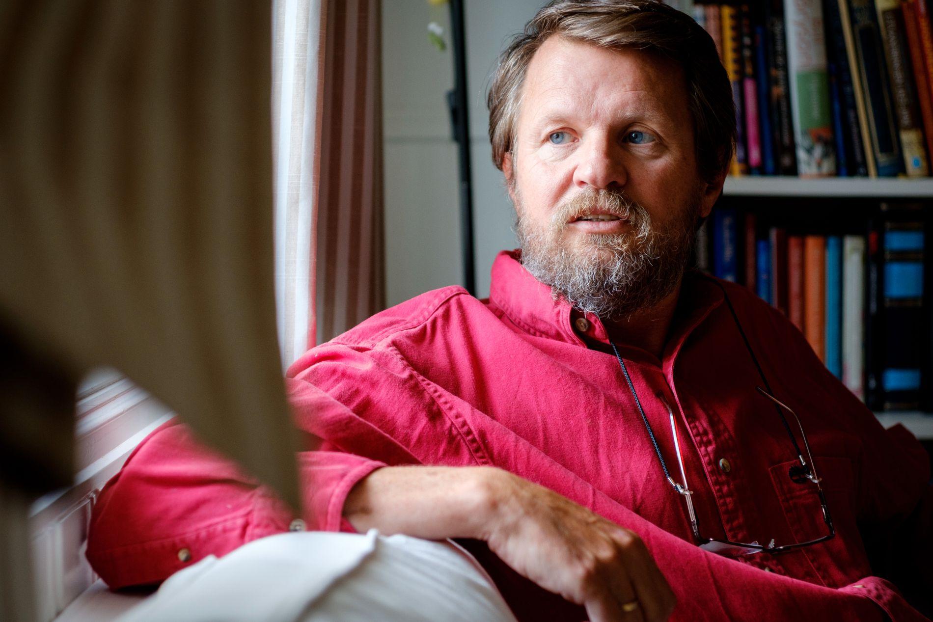 NY THRILLER: Denne uken gir krimmester Tom Egeland ut «Codex», den åttende i serien om Bjørn Beltø. Serien har solgt over 1,5 millioner eksemplarer i Norge og 24 andre land.
