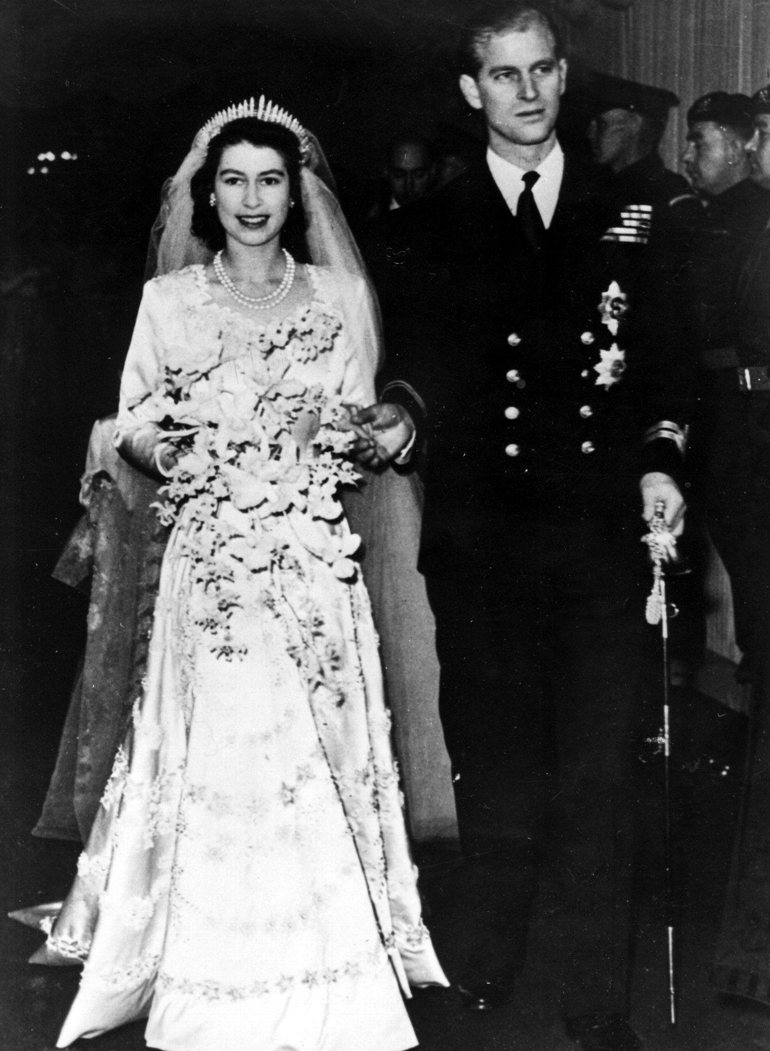 ORIGINALEN: Daværende prinsesse Elizabeth og ektemannen prins Philip 20. november 1947.