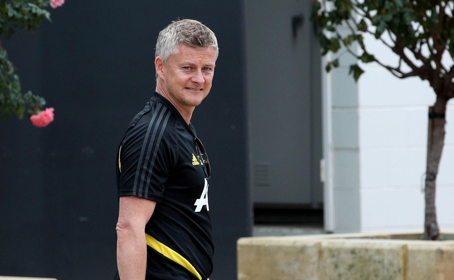 I AUSTRALIA: Ole Gunnar Solskjær har tatt med seg Manchester United til Perth for å klargjøre laget til en ny sesong.