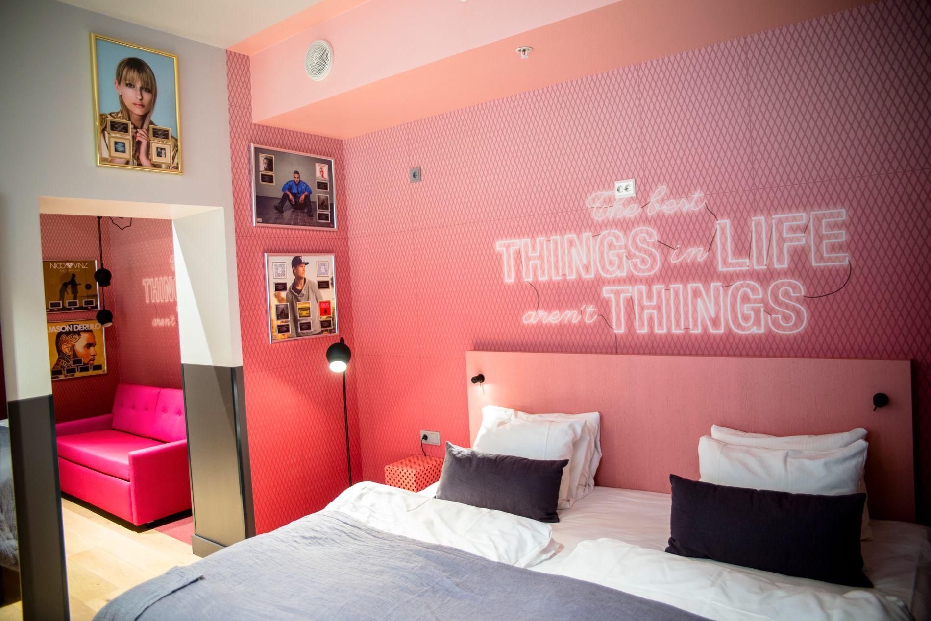 BLOGGER? Hvis du gir beskjed i forkant, kan hotellet gi deg det rommet som passer best for deg.