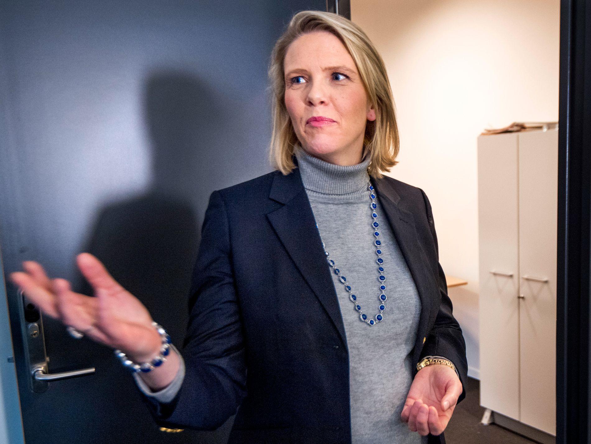 STATSRÅD BAK EGEN INNSAMLING: Innvandrings- og integreringsminister Sylvi Listhaug har startet egen innsamlingsaksjon for forfulgte kristne i andre land.