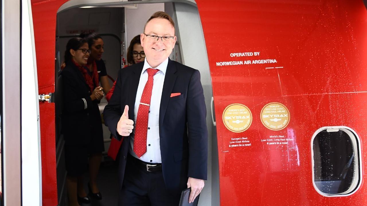 Ole Christian Melhus, administrerende direktør i Norwegian Air Argentina