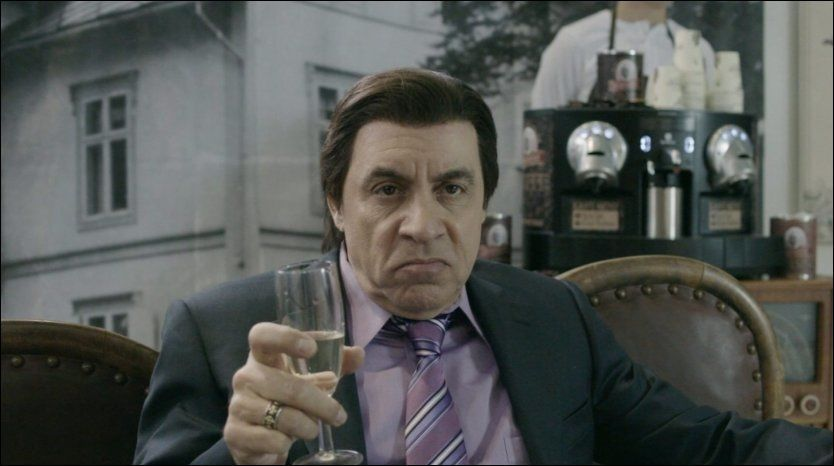 SESONGAVSLUTNING: Steven van Zandt i rollen som Frank Tagliano i «Lilyhammer». Foto: NRK