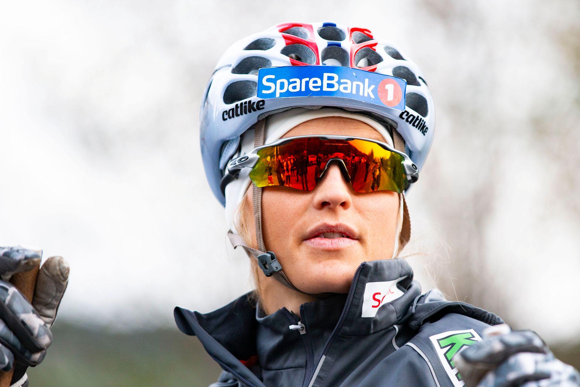 TØFFE MÅNEDER: Therese Johaug er på treningssamling på Kvitfjell, og i dag snakket hun med pressen om tapet av venninnen Ida Eide.