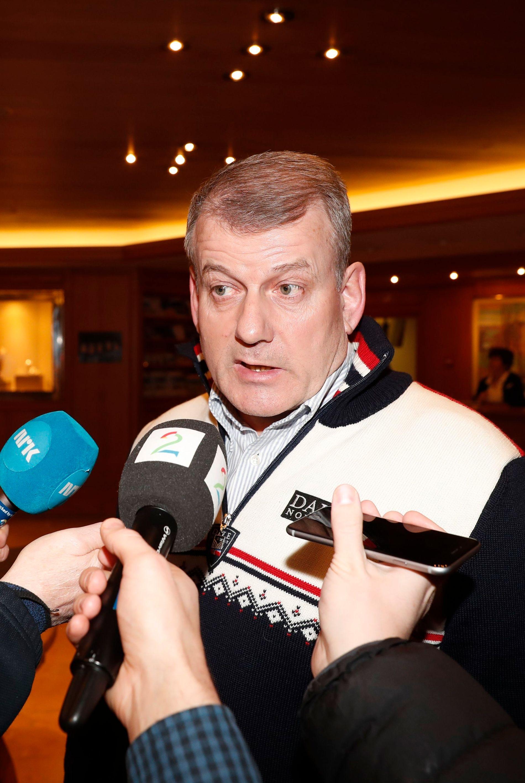 VAR ORIENTERT OM EPOSTER: Skipresident Erik Røste.