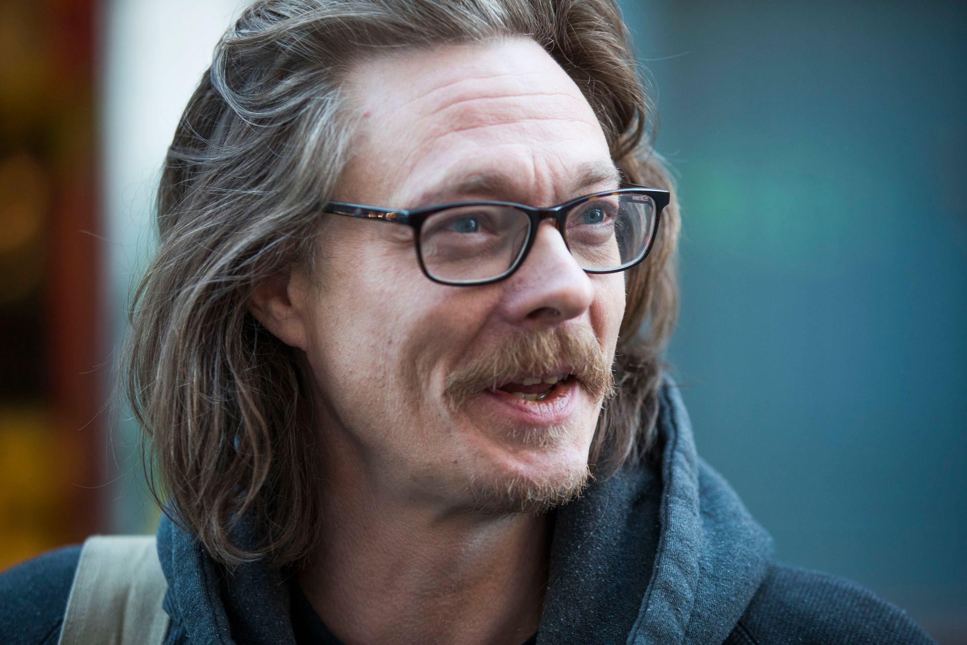 PÅ HJEMMEBANE: Kristoffer Joner (45) synes det var «veldig kjekt» å bli invitert til filmsettet like utenfor hjembyen Stavanger da Hollywood-filmen han selv har en rolle i, skulle spilles inn.