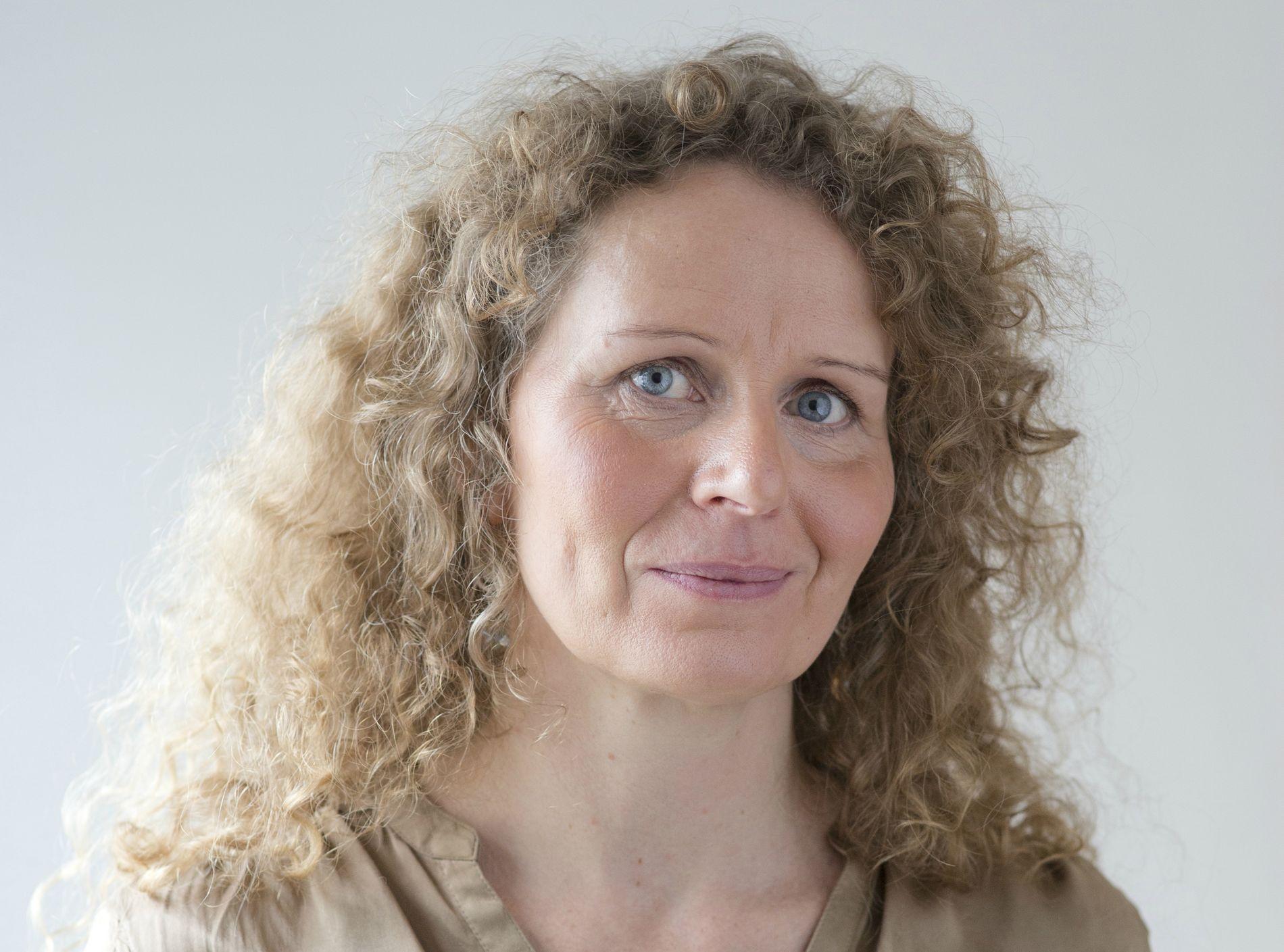 SVARER: Cecilie Widnes, generalsekretær i den ruspolitiske organisasjonen IOGT.
