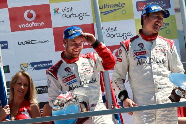 SLUTT: Jonas Andersson (t.h.) har sagt opp som kartleser for Mads Østberg (t.v.). Det er krise for VM-føreren bare en måned før Rally Monte Carlo.