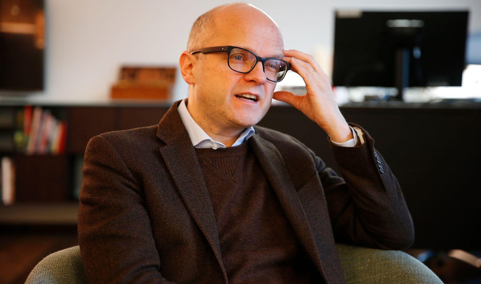 DÅRLIG KLIMA: Klimaminister Vidar Helgesen opplever motvind fra alle kanter, inkludert fra egne Høyrevelgere i ulvesaken, viser VG/Infacts tillitsmåling.