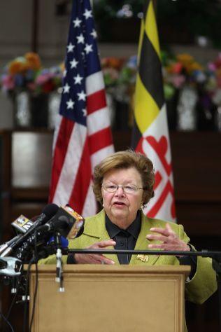 AVGJØRENDE: Senator Barbara Mikulski offentliggjorde onsdag sin støtte for atomavtalen med Iran, og sikret Barack Obama de 34 støttespillerne han trenger i Senatet.