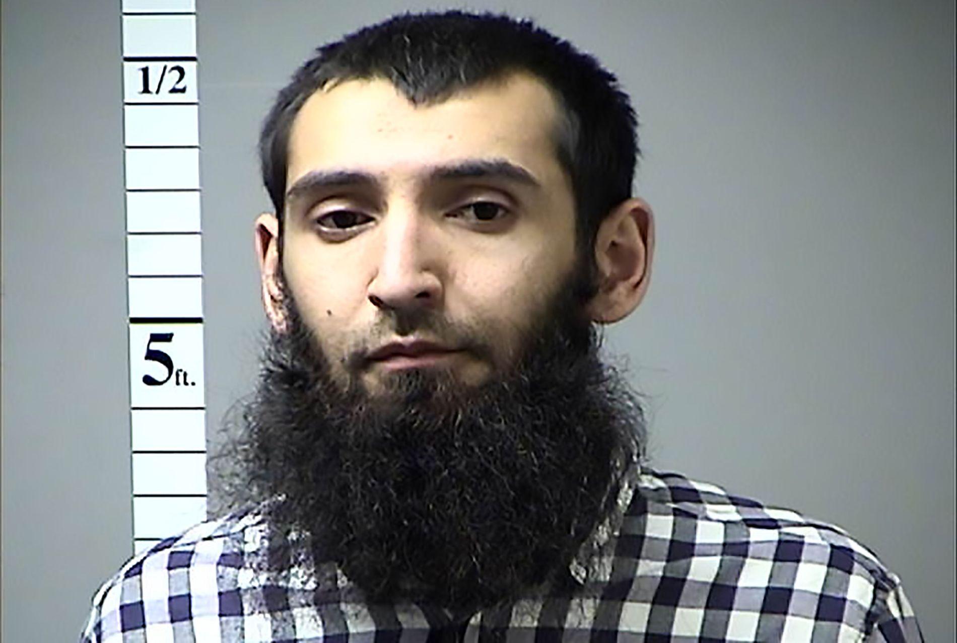 UTPEKT SOM DRAPSMANN: Sayfullo Saipov, en 29 år gammel mann med usbekisk bakgrunn som har bodd i USA siden 2010, utpekes som gjerningsmannen.