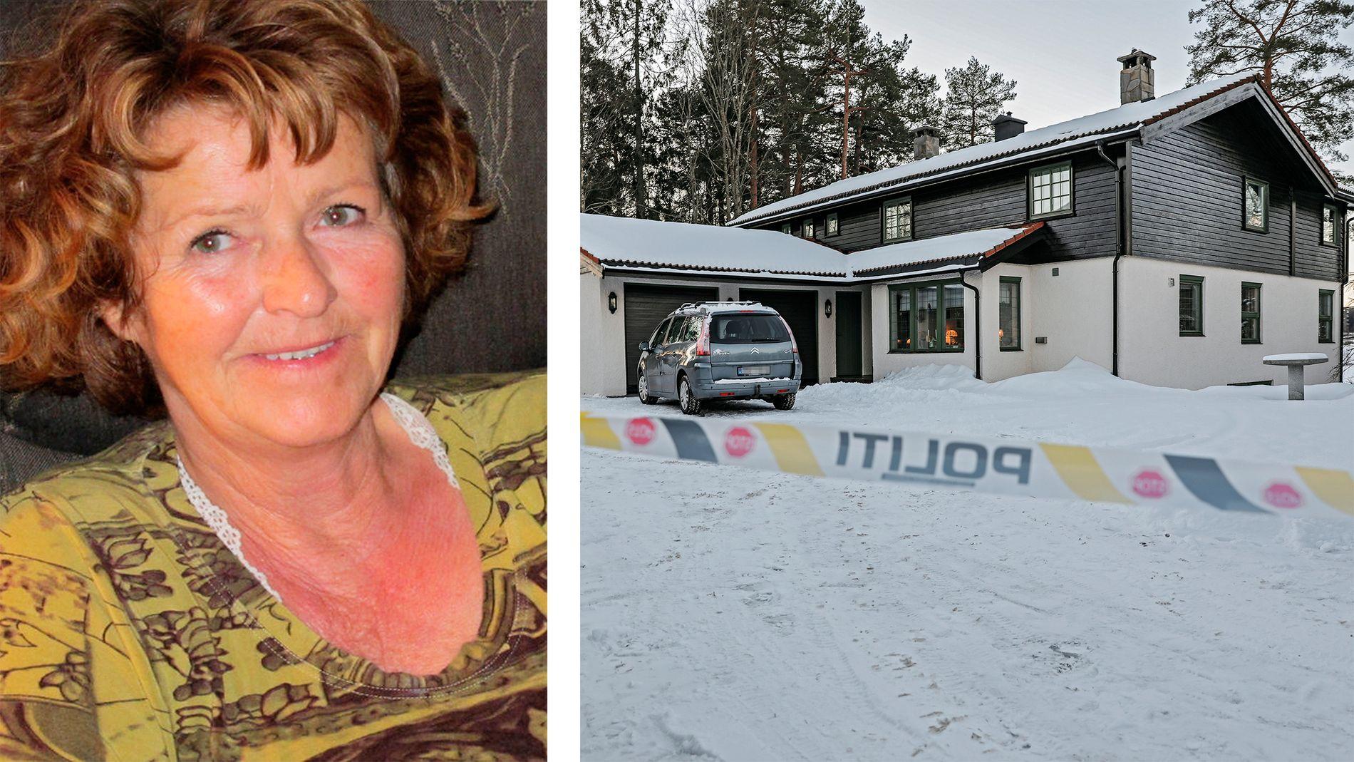 FORSVUNNET: 31. oktober forsvant Anne-Elisabeth Hagen fra hjemmet sitt i Sloraveien i Lørenskog. Politiet etterforsker saken som en grov kidnapping.