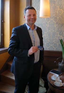 Jens Nes, Country Manager i Visa.