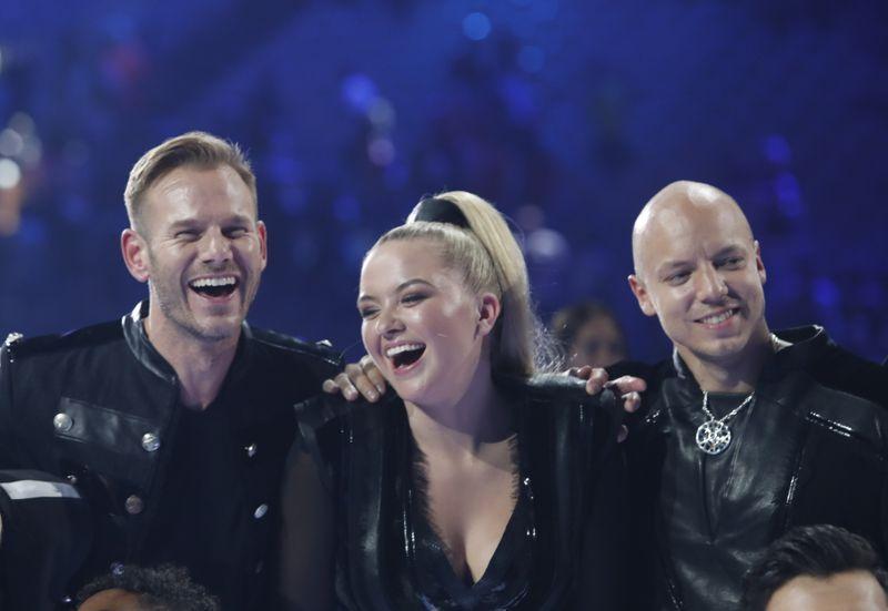 NORGE: KEiiNO fra venstre: Tom Hugo Hermansen, Alexandra Rotan og Fred Buljo.