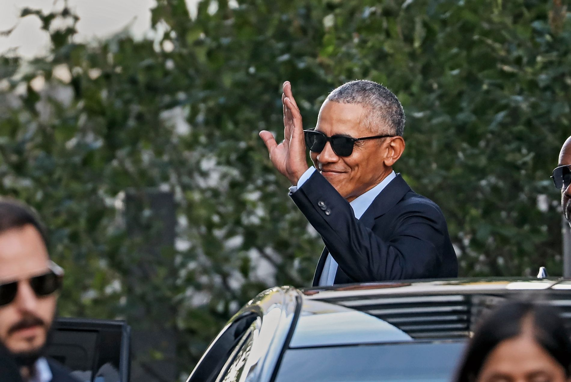 TRUET: Den tidligere USA-presidenten Barack Obama, her under sitt norgesbesøk tidligere i år.