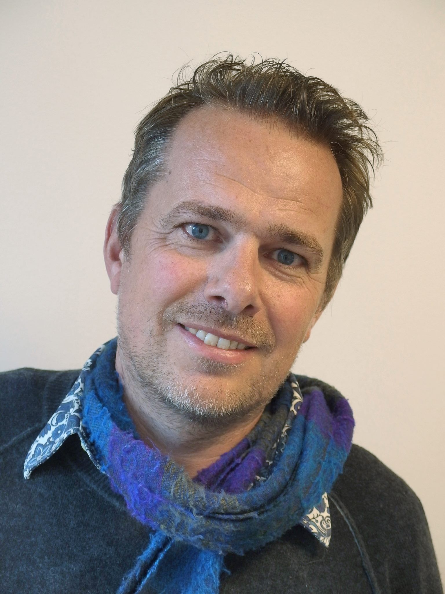 OVERRASKET: Øystein Hage, redaktør i Fiskeribladet Fiskaren. Foto: Fiskeribladet Fiskaren