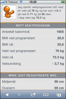 52ed79580 Vektklubb på mobil