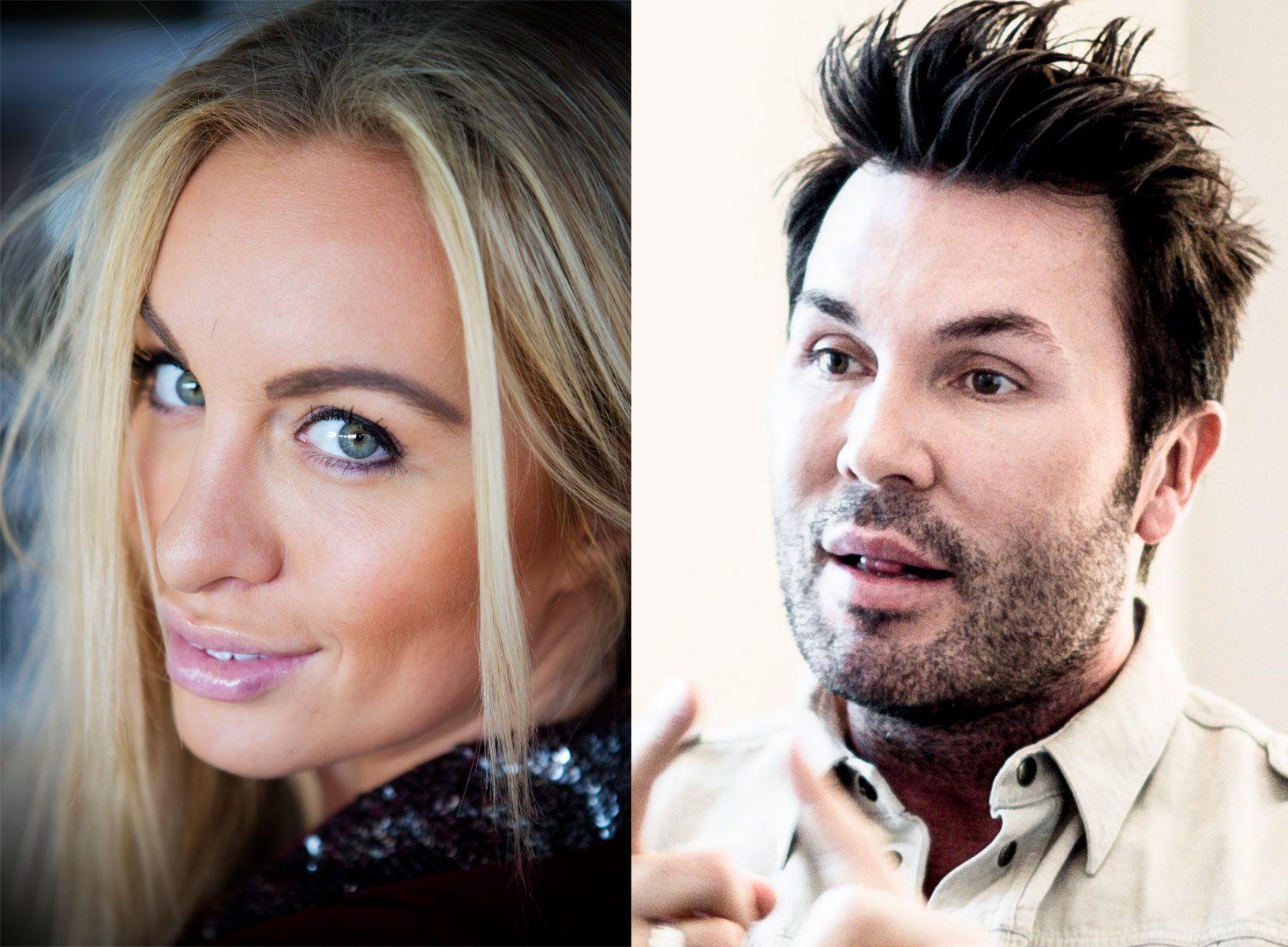 TV-KLARE: Carina Dahl og Jan Thomas har gått fra å være kranglefanter til å bli bestevenner.