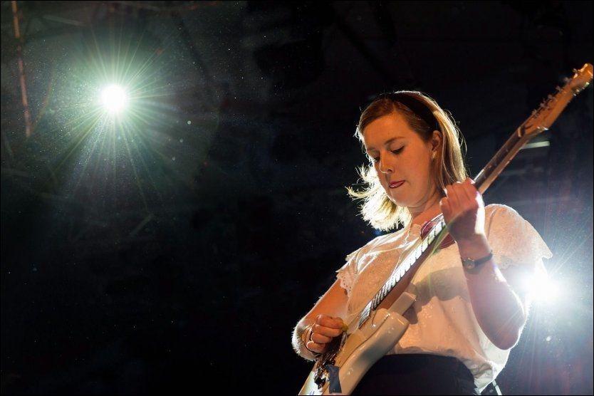 SKINNER: Marie Amdam, frontfigur i Razika. Foto: FREDRIK KLINGENBERG/BYLARM