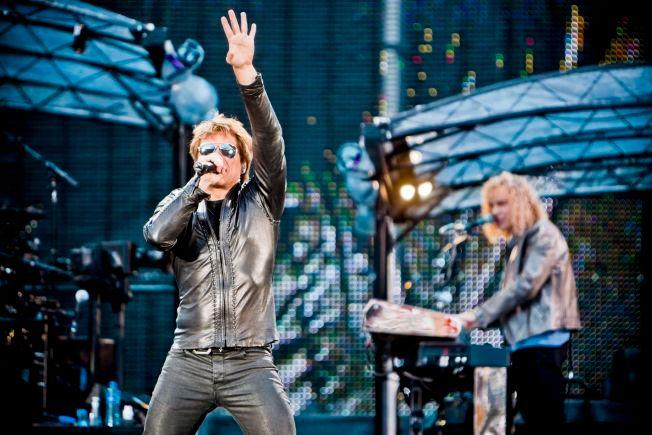 NORGESBESØK: Bon Jovi på Ullevaal Stadion med «The Circle tour».