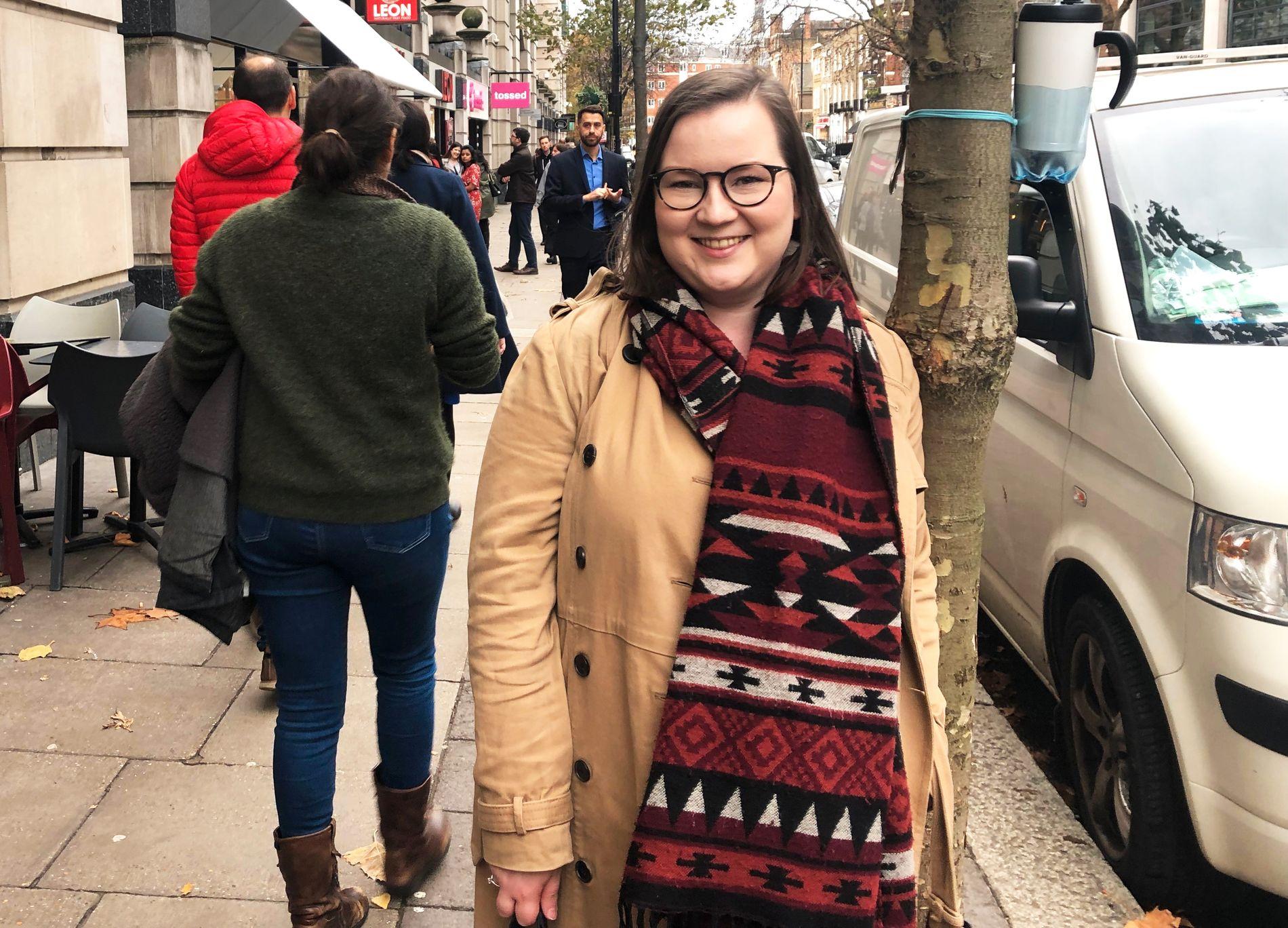 LONDON CALLING: Aurora Lyngstad Pullinger er usikker på fremtiden i London, så lenge fremtidig status for norske borgere i Storbritannia fortsatt er uavklart.