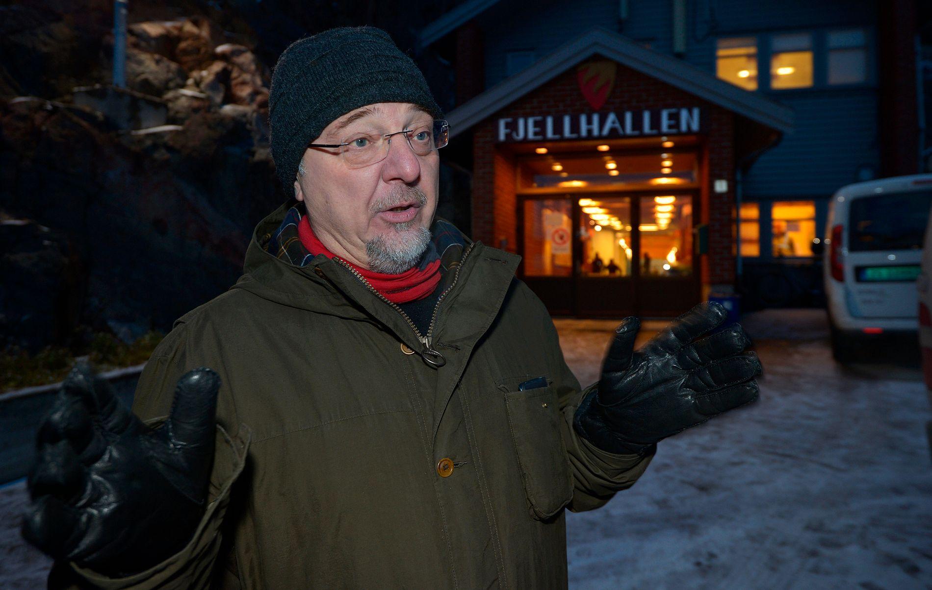 KRITISERER GJERDE: Ordfører i Sør-Varanger, Rune Rafaelsen.