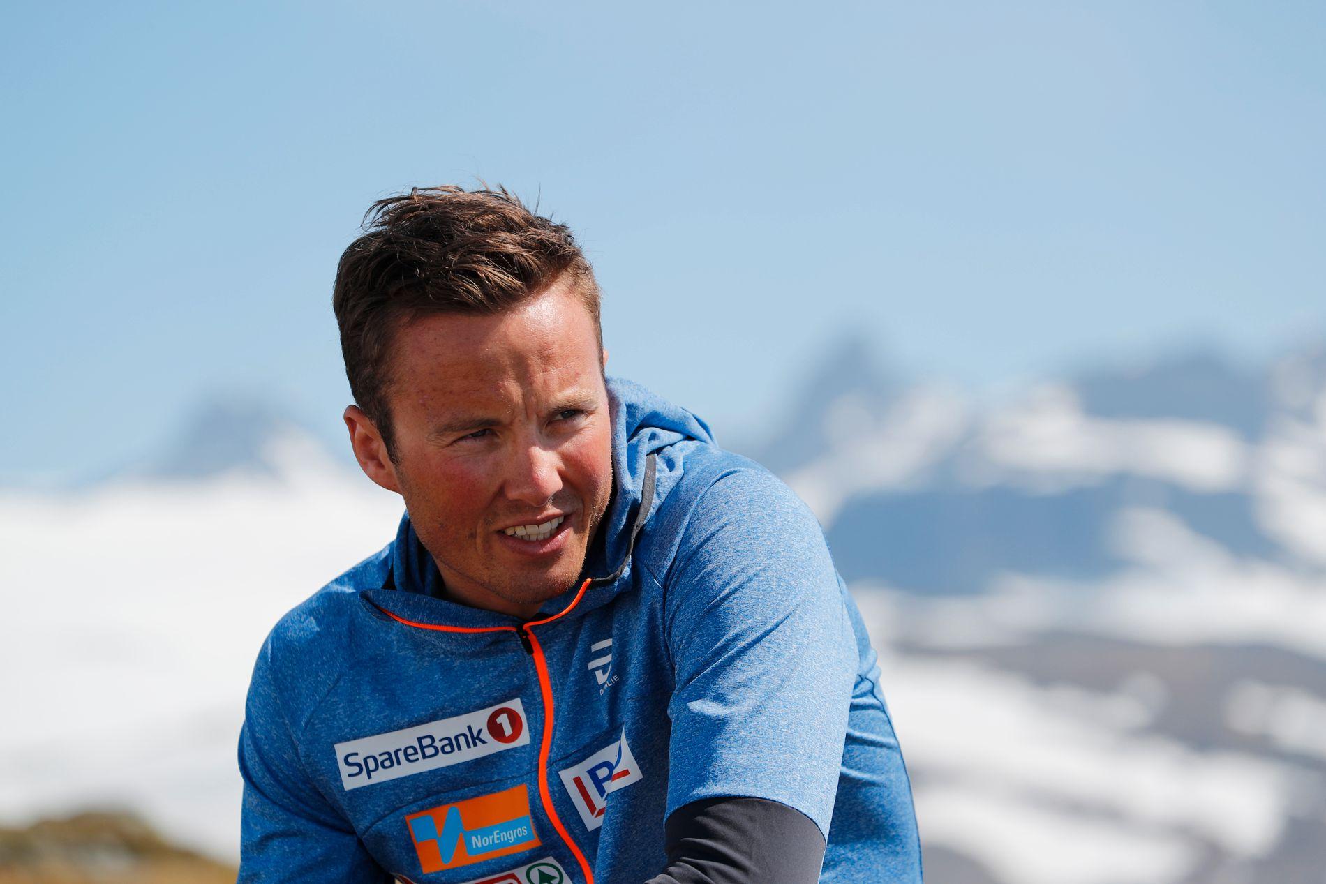 Emil Iversen, her fotografert i forbindelse med landslagets treningssamling på Sognefjellet i mai og juni i år.