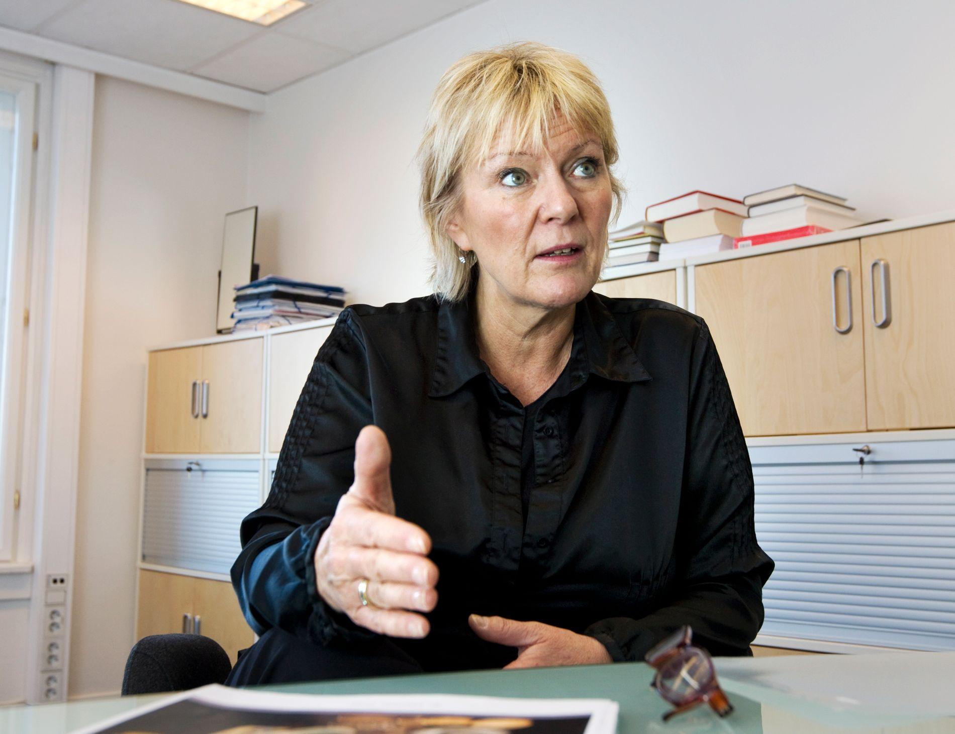 FØLER SEG LURT: Kristin Clemet kjøper ikke NOAS argumenter om at det er Joners egne meninger.