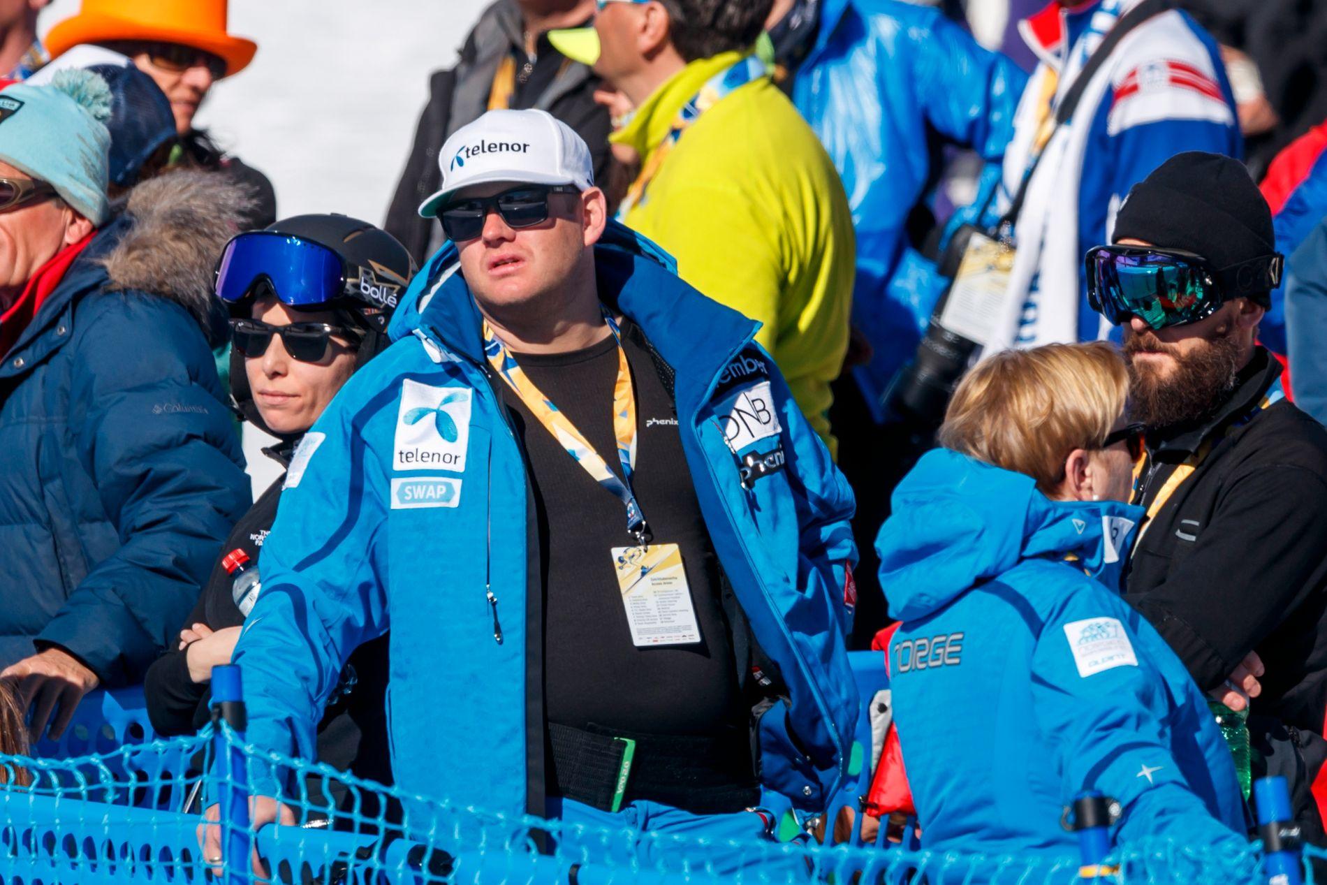 FERDIG I JOBBEN: John Olav Evans, her fra alpin-VM i St. Moritz i februar, har forlatt jobben som sponsorsjef for alpinlandslaget i skiforbundet.