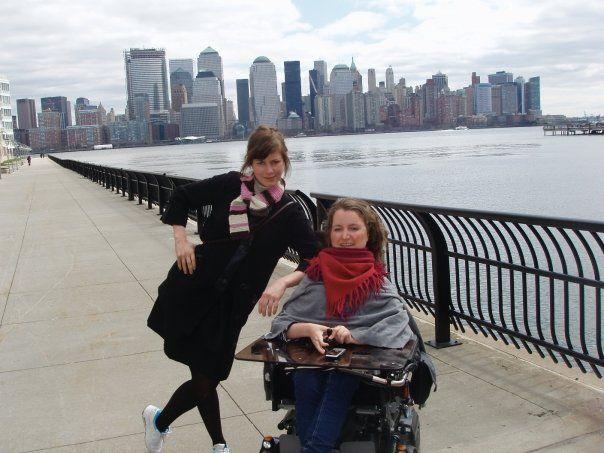 FERIE: Mari og Silje Storstein sammen på ferie i New York.