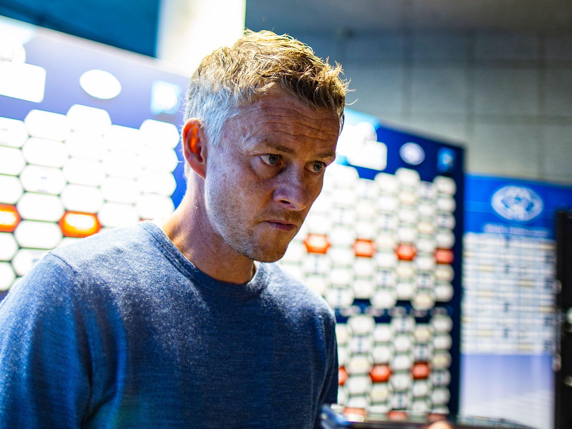 BETENKT: Molde-manager Ole Gunnar Solskjær mener forholdene ikke er lagt godt nok til rette for norske lag i Europa.
