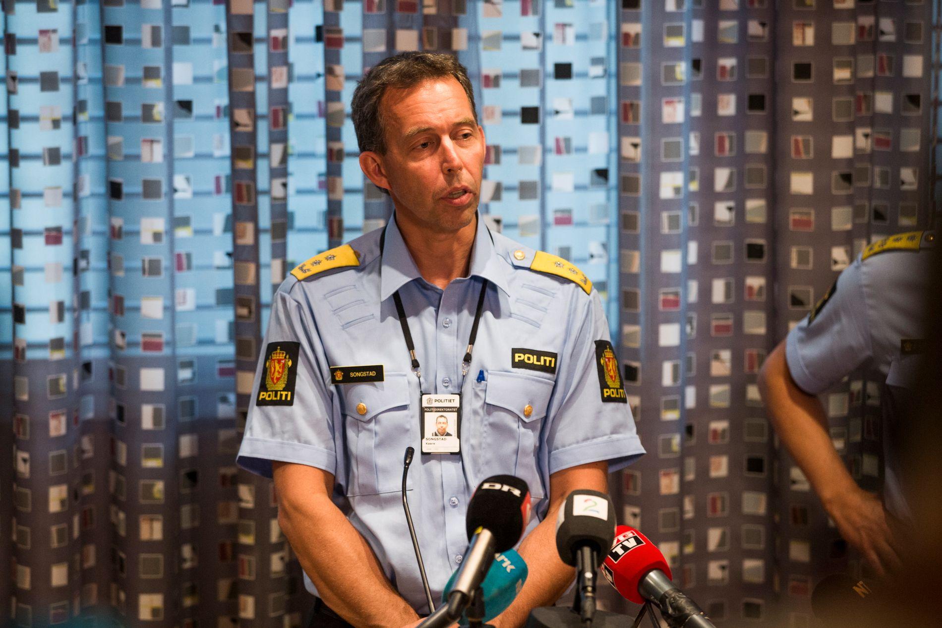 Politimester Kaare Songstad i Vest politidistrikt.